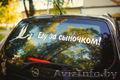 Наклейки на автомобиль на выписку из Роддома в Мозыре